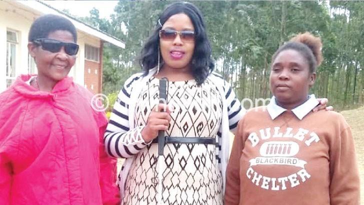 Kumwenda C flanked by Tengeza and Thethewa | The Nation Online