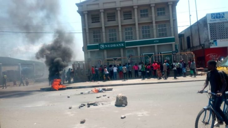 Vendors protest in Limbe