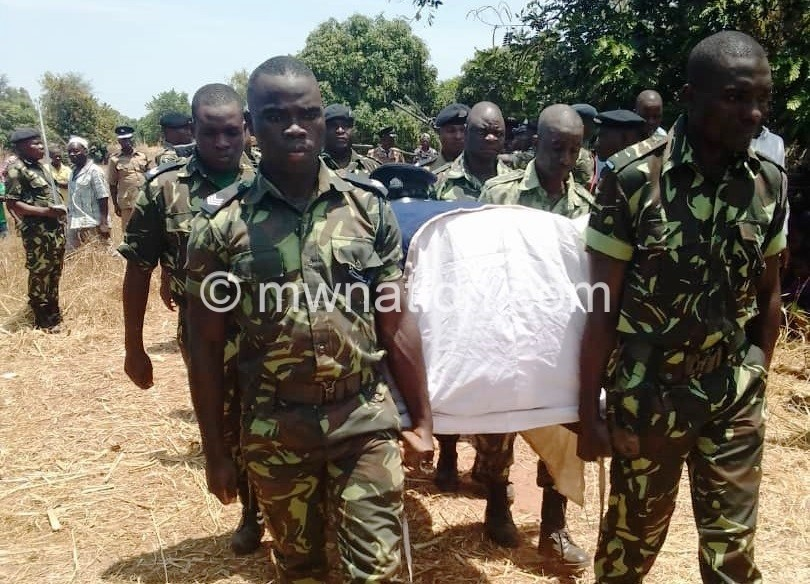 Police officer burial | The Nation Online
