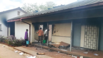 Angry students burn Thyolo Secondary School