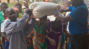 Minister donates maize to the elderly