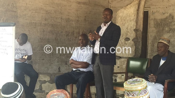 MRA engages Mangochi chiefs on tax, smuggling