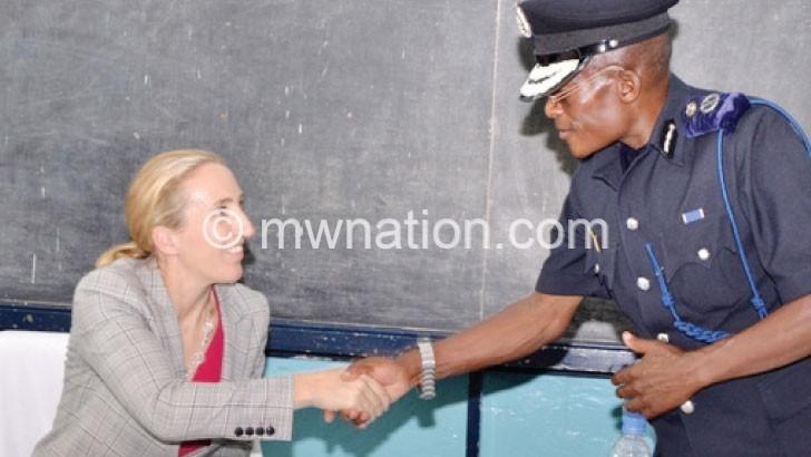 UK envoy for police, public trust