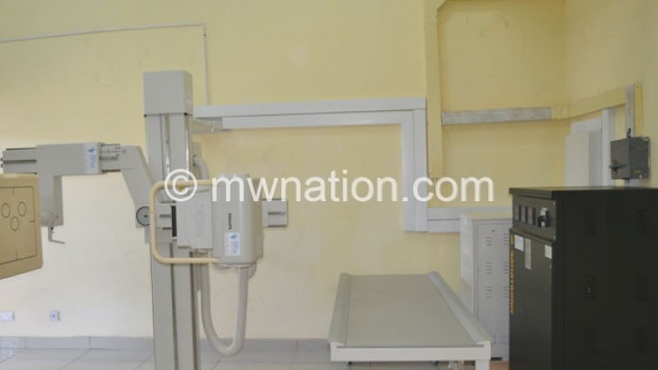 Ntchisi District Hospital needs X-Ray machine