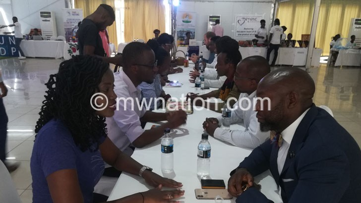Businesses speed dating | The Nation Online