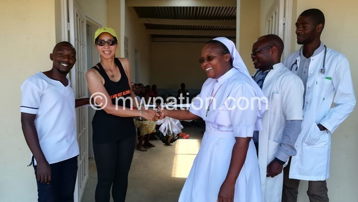 German NGO donates clinic