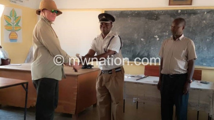 Persons with albinism get security gadgets in Nkhotakota