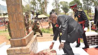 Mutharika, nation honour fallen heroes