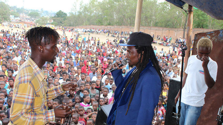 Young Generations Band lights up Ndirande Ghetto Festival