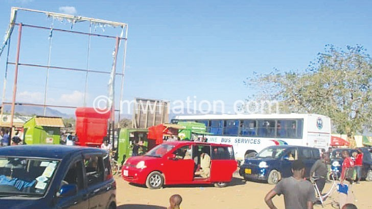 Chitipa District needs bus depot
