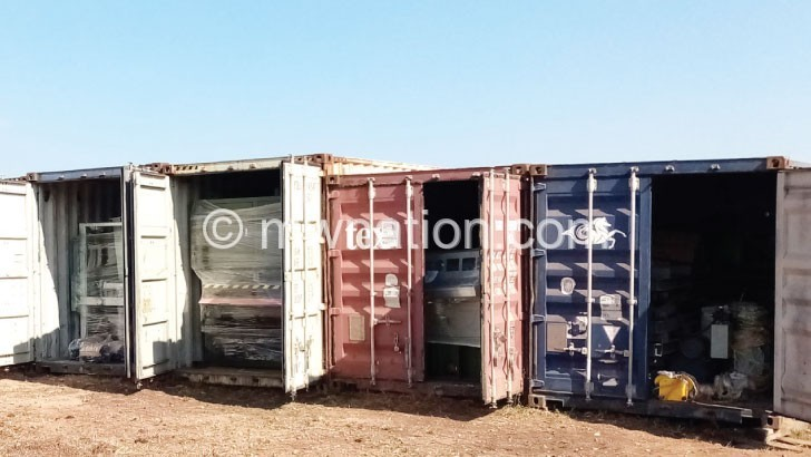 containers | The Nation Online