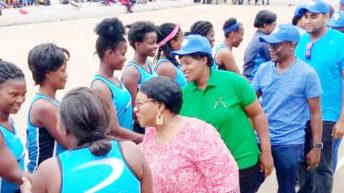 Airwing Sisters bask in Botsalt Netball glory