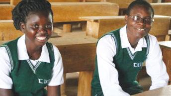 Schoolboys defend girls' rights