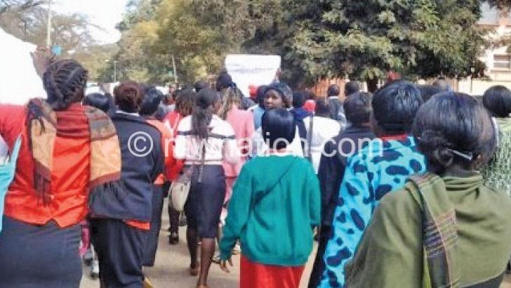 331 secondary school teachers down tools