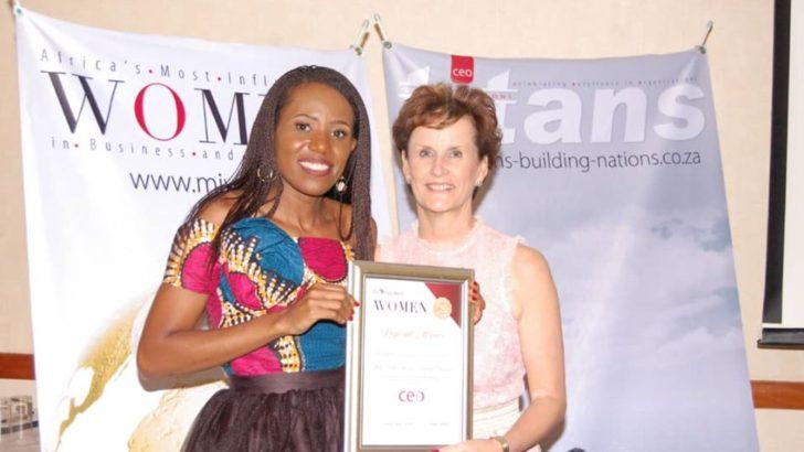 Beartha Chiudza: Winner of two awards for advancing gender
