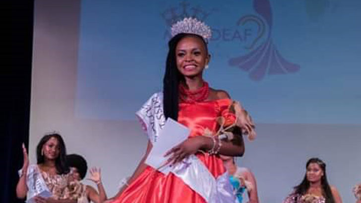 Kamkwamba crowned Miss Deaf Africa 2019