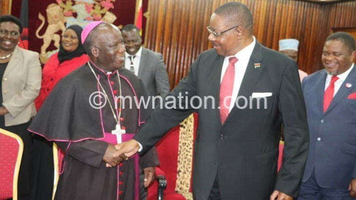 Mutharika chats with Msusa | The Nation Online