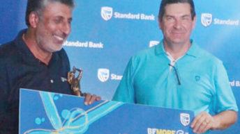 Ganatra, Chinkhandwe win Standard Bank Be More Golf