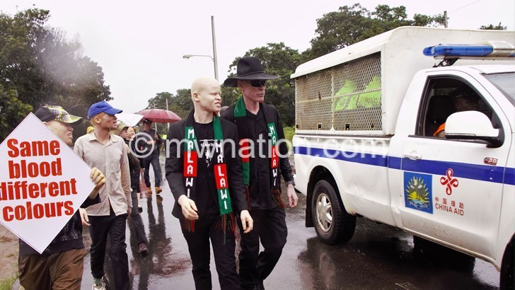 albino march | The Nation Online