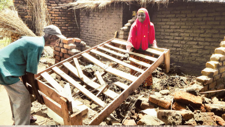 Disaster victims appeal for help