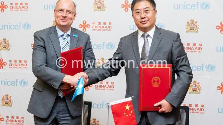 china donation   The Nation Online