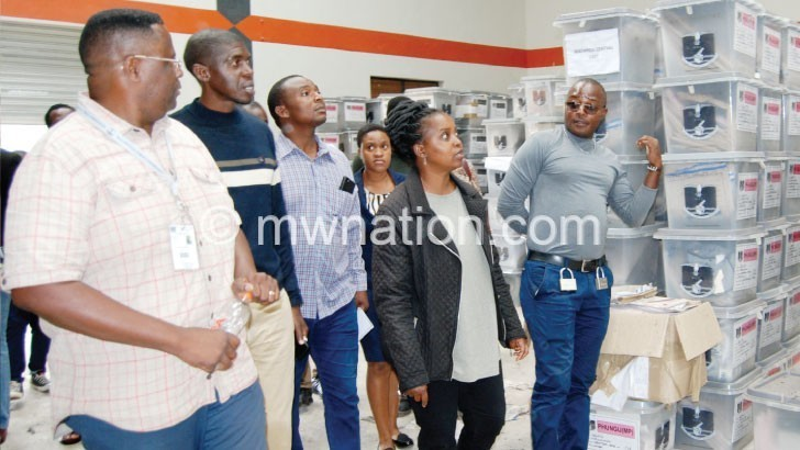 electoral materials | The Nation Online