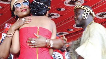 Year of Gomani's royal wedding
