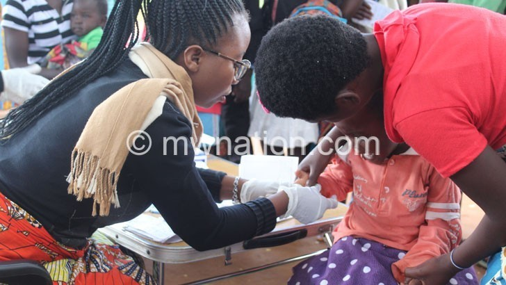 malaria test   The Nation Online