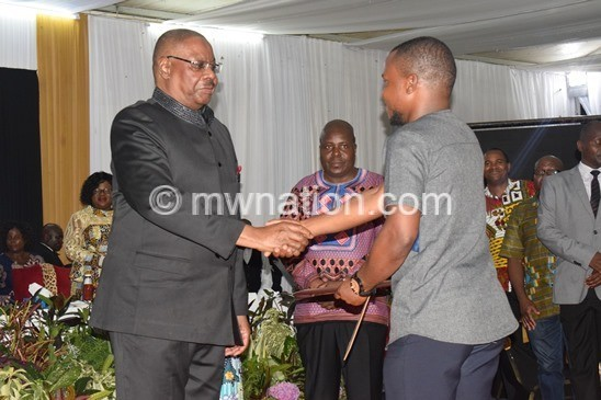 Stop blaming others—Mutharika