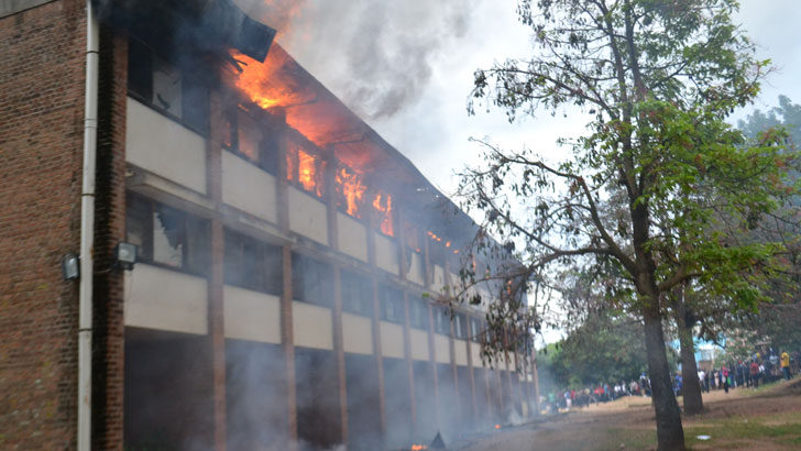 Poly fire probe still on, needs K146m relief to re-open