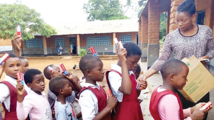 Lilongwe pupils drilled in oral hygiene