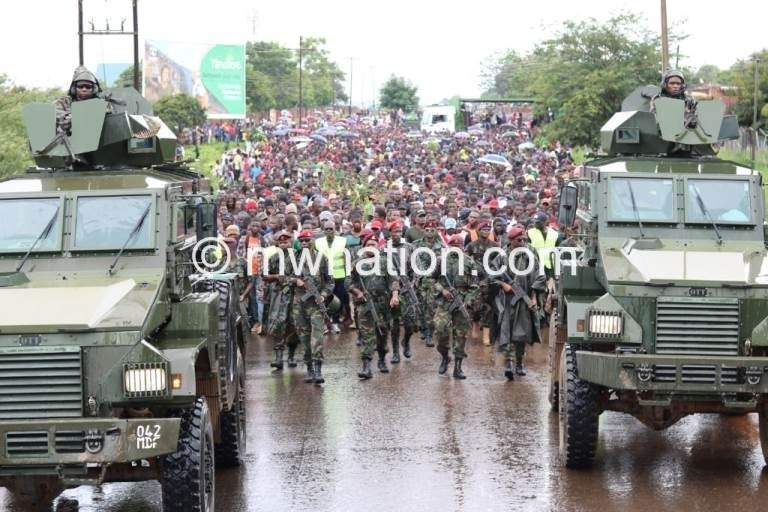 HRDC Lilongwe demonstrations   The Nation Online