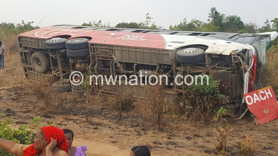 MPC bus accident | The Nation Online