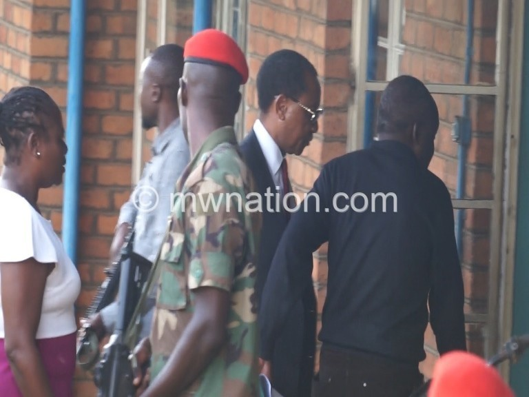 Mpinganjira arrested 1   The Nation Online