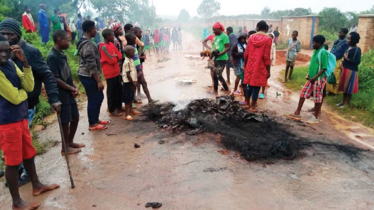 Locals seal Msiro waste facility