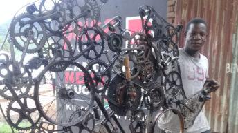 Ndalema's penchant metal art