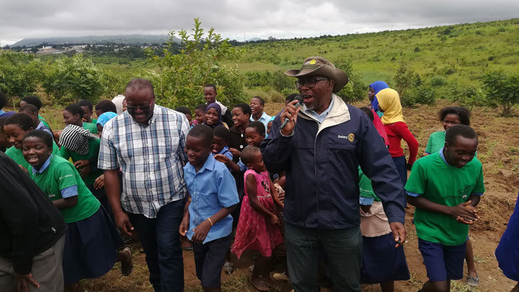 Rotary urges communities to take care of trees