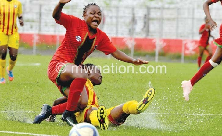 women flames | The Nation Online