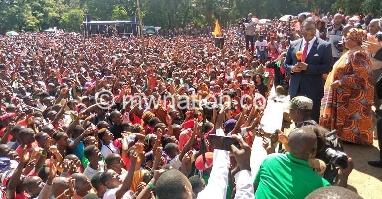 Chakwera rally   The Nation Online