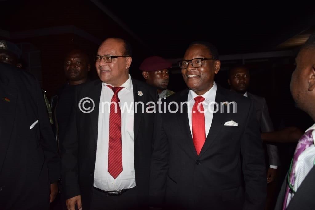 Chakwera   The Nation Online