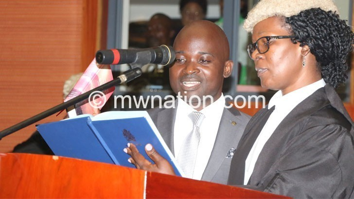 Dimba swear in | The Nation Online