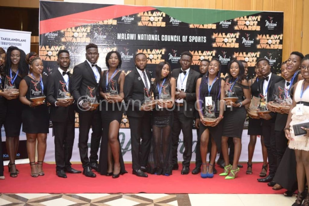 Malawi Sport awardees | The Nation Online