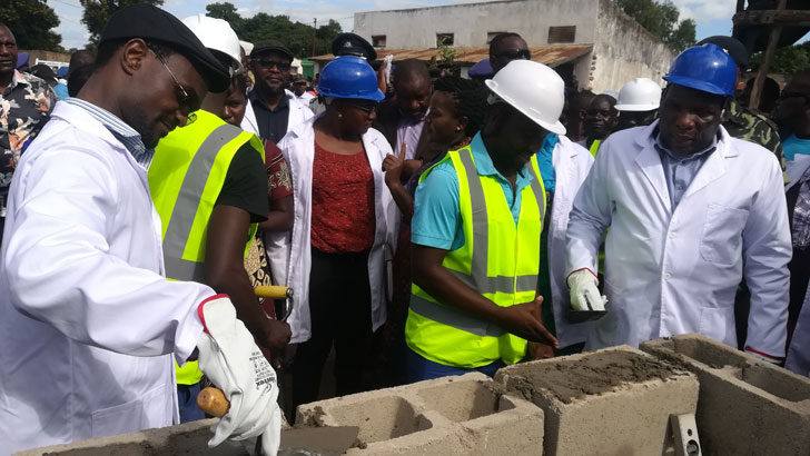 Minister commissions depot, market projects