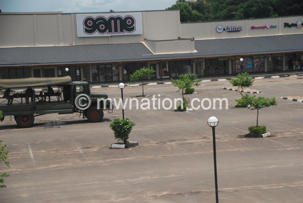 Quiet street in Lilongwe | The Nation Online