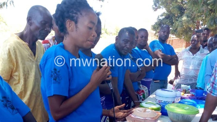 Women display nutritious food | The Nation Online