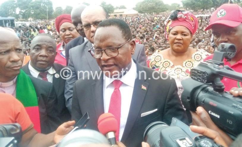 chakwera msundwe | The Nation Online