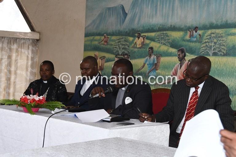 Rev Mirriam Chipeta Banda Masauko Mbolembole Billy Gama and Moyenda kanjerwa 14 | The Nation Online