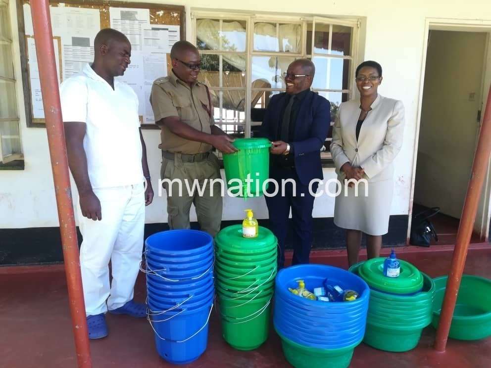 Cosoma donates to prison | The Nation Online