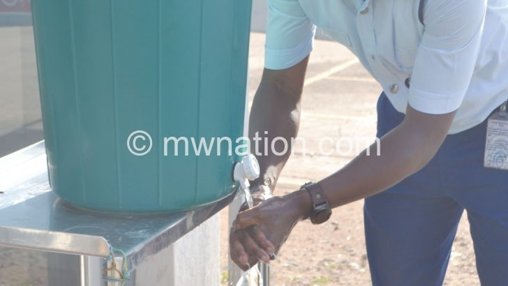 hand washing | The Nation Online