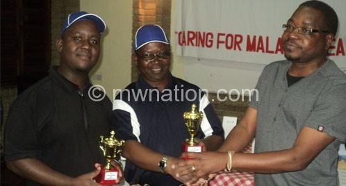Business Computing wins QECH golf tournament